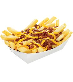 Crispy, golden brown sticks of potato goodness. Get 'em with your combo, or on their own smothered with warm, chili and cheese. But who are we to tell you how to eat Chilli Cheese Fries, Food Png, Snack Recipes, Snacks, Kid Recipes, Good Food, Yummy Food, Restaurant Recipes, Copycat Recipes