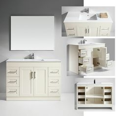 @Overstock - Update the look and feel of your bathroom with this attractive single sink vanity with mirror. This beautiful vanity features quality solid oak with a ceramic sink top and drawers for storage.http://www.overstock.com/Home-Garden/Artifical-Stone-Top-Single-Sink-Bathroom-Vanity-with-Mirror/7348703/product.html?CID=214117 $1,149.99