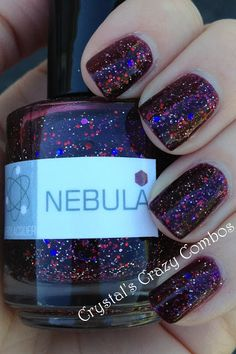 Crystals Crazy Combos: NERD LACQUER is BACK!!!