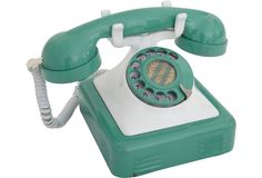 1940s Metal Desk Phone