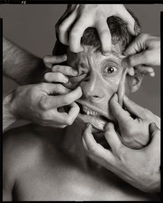 Richard Avedon Maurizio Cattelan, artist, New York, July 8, 2004