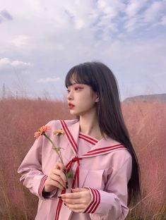Ulzzang Korean Girl, Cute Korean Girl, Asian Girl, Swag Girl Style, Girl Swag, Free Photo Filters, Asian Short Hair, Korean Beauty Girls, Uzzlang Girl