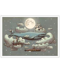 Ocean meets Sky, Terry Fan