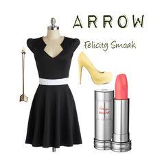 Felicity Smoak Inspired- Embracing Dresses more and more
