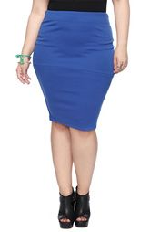 Pencil skirts are the perfect way for a plus sized gal show off her curves!