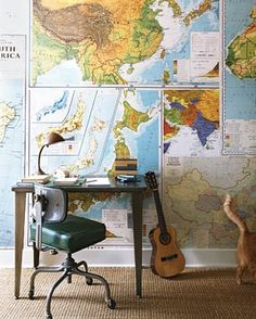 Rejuvenation Industrial: Maps and a ukelele bring out the playful side of industrial