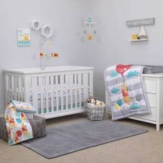 Winnie the Pooh First Best Friend 4pc Crib Set