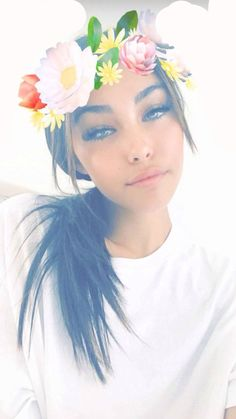"""[ Madison Beer ] """"hi. I'm Madison Beer. I'm 17. I like singing. My older sister is Marceline the Vampire Queen. I gave her that nickname 9 years ago when I was 8. I have a brother named Cameron. Intro?"""""""