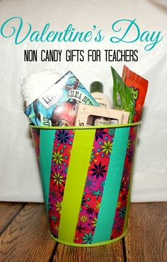 Non Candy Valentine's Day Teacher Gifts