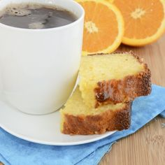 Ricotta Orange Pound Cake...so moist, rich, buttery and bursting with amazing citrus flavor.