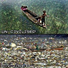 People have to change their environmental mentality