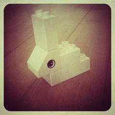 Finn's Wherebit (Taken with instagram) #Lego #Duplo #rabbit