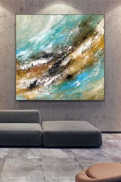 If you're looking for the perfect art to hang in your home, may I suggest my latest painting? It will fill any empty space and brighten up any room. ….................. . #abstract #acrylicpainting #art #abstractart #abstractpainting #abstractexpressionism #acrylicpaintingsforsale #painting #contemporaryabstract #originalpainting #artwatchers #palleteknifepainting #sanfranciscoart #myartwork #contemporaryart #artworkoncanvas #paintingart#artoninstagram #worldofartists Large Abstract Wall Art, Large Canvas Art, Blue Abstract, Modern Oil Painting, Large Painting, Acrylic Paintings, Modern Artwork, Modern Wall Art, Contemporary Art