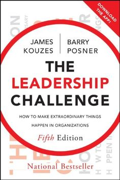 The Leadership Challenge: How to Make Extraordinary Things Happen in Organizations by James M. Kouzes http://www.amazon.com/dp/0470651725/ref=cm_sw_r_pi_dp_AROuub007MFA3