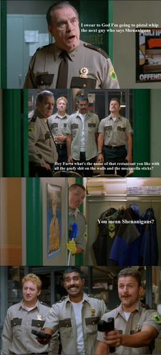 Funny pictures about Super Troopers Was Actually A Great Movie. Oh, and cool pics about Super Troopers Was Actually A Great Movie. Also, Super Troopers Was Actually A Great Movie photos. Funny Movies, Great Movies, Amazing Movies, Funniest Movies, Movie Quotes, Funny Quotes, Tv Quotes, Just For Laughs, Just For You