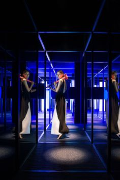 The MAZE by COORDINATION ASIA at the Shanghai Museum of Glass Park  Photo: Nina…