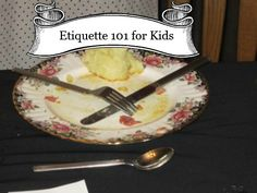 Etiquette 101 for Kids - From Valley Family Fun