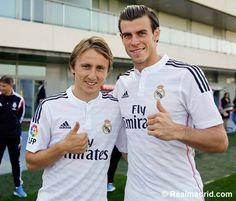 Luka Modric & Gareth Bale
