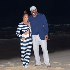 Our Favorite Steve and Marjorie Harvey Vacation Moments Through The Years Steve Harvey Family, Lori Harvey, The Lady Loves Couture, Love Couture, 60 Fashion, Fashion Outfits, Womens Fashion, Fashion Ideas, Cruise Outfits