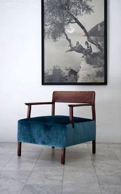 this chair. #velvet