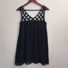 LF Millau Black Dress Gently used. Lined. Reasonable offers welcomed. Please use offer button. LF Dresses Mini