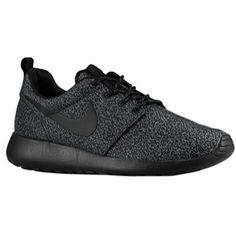 Nike Roshe Run - Women's - Anthracite/Anthracite/Volt/Black