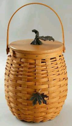 Longaberger pumpkin basket.  This is one of my favorite baskets in my collection.