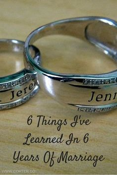 6 Things I've Learned In 6 Years Of Marriage!
