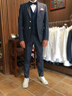 人気のデニムオーダータキシード   結婚式の新郎タキシード/新郎衣装はメンズブライダルへ