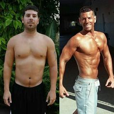 33 year old me vs 38 year old me!  Sometimes it is easy to forget how far you have come along your journey.  Always stay on track but occasionally reflect on what motivated you THEN vs what motivates you NOW!  I'm refocused on my 2016 goals!  Are you?  It's never too late to change your life......start tomorrow!  #pizzadiet #pizzaking #mattmcclellan #pizzaindustryspokesman #bodybuiltbypizza #pizza #nyc #macros #flexibledieting #teamgrazione