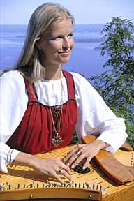 Karelia traditional dress, Lapland, Finland