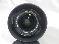 Vintage Quantaray Sigma Zoom 28 80 f3.5-5.6 Aspherical Macro Lens for Minolta Maxxum or Sony Alpha by WesternKyRustic on Etsy