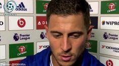Chelsea 2-1 West Ham Eden Hazard & Terry Post Match Interview