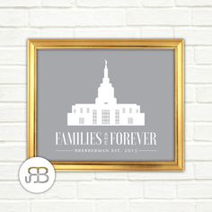 LDS Idaho Falls Idaho Temple Personalized by RoseBlossomPrints