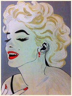 Marilyn Monroe Beautiful:SaundraMylesart