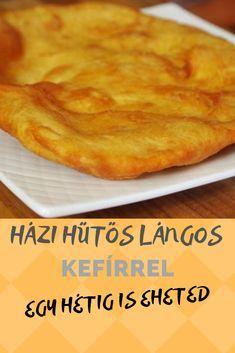 Hungarian Cuisine, Hungarian Recipes, Kefir How To Make, Food To Make, Kefir Recipes, Cooking Recipes, Kefir Probiotic, Kefir Yogurt, Lunches And Dinners