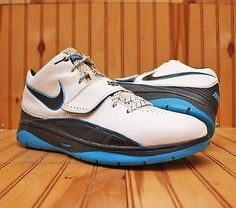 0ea0a7ccf2ab 2009 Nike KD II 2 Size 13 - White Black Photo Blue - 386423 100 Nike