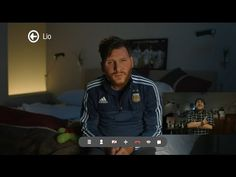 DIEGO despertó a LIO antes de la final - YouTube