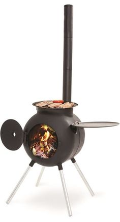 Get Free Delivery on Ozpig Cooker / Heater - Huge Range of Camp Ovens at Australia's Best Online Camping Store Bbq Grill, Grilling, Barbecue, Diy Wood Stove, Bbq Plates, Outdoor Fire, Outdoor Stove, Stove Fireplace, Ovens