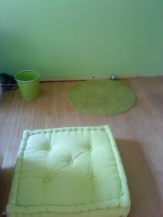 Bamboo flooring in the entire flat