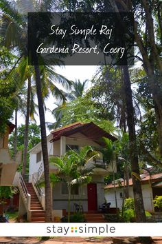 Come visit us at Stay Simple Raj Gardenia Resort in Coorg and sleep surounded by greenery! We will make your stay in the Scotland of India a memorable one 🌴☀ Fun Adventure, Adventure Activities, Travel Destinations In India, Karnataka, Travel And Leisure, Hotels And Resorts, Greenery, Traveling By Yourself, Scotland