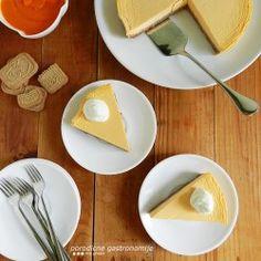 Pečeni čizkejk od bundeve - fin i jednostavan kolač, iznenađujućeg kremastog ukusa i prepun jesenjih aroma.