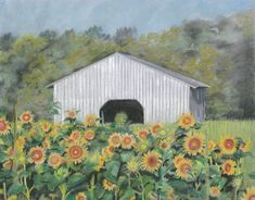Excited to share the latest addition to my #etsy shop: Barn Art, Custom Artwork, Farm Art, Farm Artwork, Barn Paintings, Farm Paintings, Farm House Art, Farm House Paintings, Pastel Paintings #art #drawing #housewarming #valentinesday #flowerpaintings #sunflowerart #sunflowerpaintings