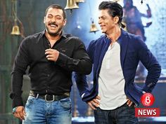 We have a strange, unspoken love: Shah Rukh Khan on his dosti with Salman Khan - Salman Khan turns 51 today and Shah Rukh Khan looks back at their friendship and what has made it work 27 Dec 2016 Salman Khan Wallpapers, Bollywood Actors, Shahrukh Khan, My Hero, My Idol, Actors & Actresses, Theatre, Bomber Jacket, Dec 2016
