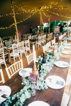 Whimsical Stylish Burgundy & Rose Gold Tent Wedding with a Hermione de Paula dress in Nottinghamshire. Birthday Table Decorations, Party Table Decorations, Wedding Decorations, Marquee Wedding, Tent Wedding, Wedding Table, Gold And Burgundy Wedding, Party Canopy, Marquee Decoration