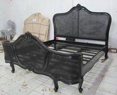 Antique King Bed/ Master bedroom