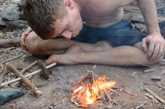 Editor's note: This article was originally written by our friends at OFFGRID. Check out their site for more survival-related tips. If you've ever tried to start a fire without modern tools, you'll certainly know one thing: It's hard work.