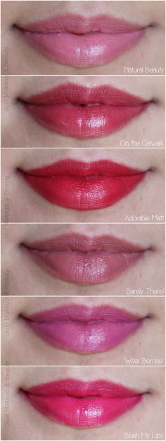 Essence Long Lasting Lipstick Swatches
