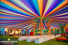 Add a personal touch to your special day with Colorful Mehndi held at Kingsvilla by Desi Wedding Decor, Wedding Hall Decorations, Luxury Wedding Decor, Marriage Decoration, Wedding Entrance, Wedding Mandap, Backdrop Decorations, Wedding Receptions, Wedding Ideas