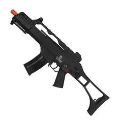 Modos de tiros: Semi & Full automático Velocidade: 410 fps com munição 0.20g Mecanismo: Green Gás | GBB Travas: Funcionais Construção: Polímero de alta resistencia e metal Comprimento: Coronha retraída: 50cm - Coronha Estendida: 71,5cm Ação: Blowback Peso: 3,2 kg Capacidade do magazine: 25 bbs - Acompanha 2 mags Fabricante: Army armament Rifle, Airsoft Guns, Metal, Shots, Weapons Guns